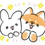 【LINE無料スタンプ速報:隠し】ミミちゃん×ほんわかしばいぬ スタンプ(2021年07月14日まで)